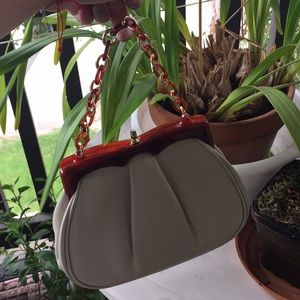Vintage high quality leather purse from the 1960s